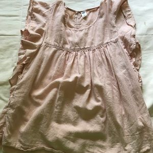 old navy baby pink top